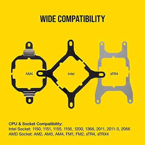 『Corsair H150i PRO RGB 水冷CPUクーラー [Intel/AMD両対応] FN1149 CW-9060031-WW』の6枚目の画像