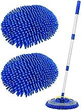 Conliwell 2 in 1 Car Wash Brush Mop Mitt Kit, Car Cleaning Kit Brush Duster, 45