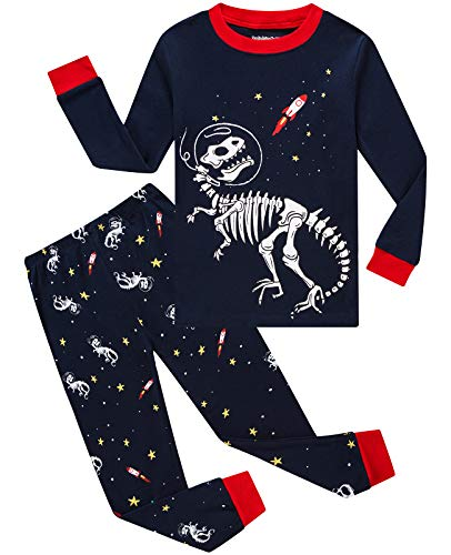 Dolphin&Fish Boys and Girls Pjs Sets Cotton Little boy Clothes Children Sleepwear