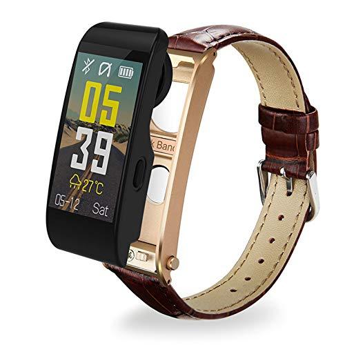 VBF Pulsera Inteligente, Ritmo Cardíaco, Presión Arterial, Oxígeno De La Sangre, Monitoreo del Sueño, Música Bluetooth Y6,A