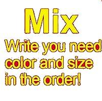 シームレスな下着の男性コットンブランドセクシーな大きなパンツボクサー通気性の短いパンティー凸ポーチ-boxer men pack mix-6XL Waist 45-49inch