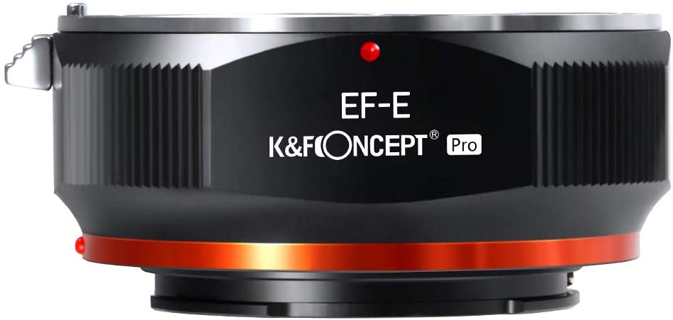 KF Concept EOS to E Oakland Mall Outlet ☆ Free Shipping Mount EF Compatible Canon Adapter for EF-S