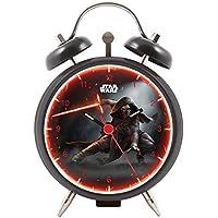 Star Wars cm de Las Galaxias Episodio VII - Joy Toy Kylo Puertas Despertador de Metal 9 cm 4.5 x 9 x13 en Caja de Regalo 27381