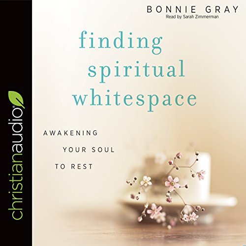 Finding Spiritual Whitespace audiobook cover art