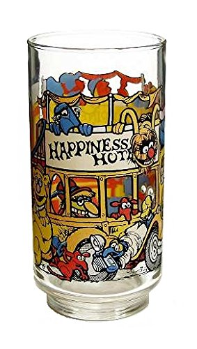 McDonald's Great Muppet Caper Glass (1981 / Happiness Hotel / 5 1/2')