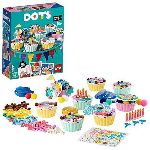LEGO 41926 DOTS Cupcake Partyset mit Cupcakes, Geburtstagsgeschenk Set, DIY-Projekte, Kunst und Handwerk für...