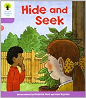 Oxford Reading Tree: Level 1+: First Sentences: Hide and Seek by Roderick Hunt(2011-01-01)