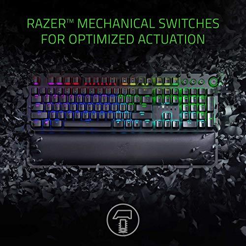 Razer BlackWidow Elite Mechanical Gaming Keyboard - Green Mechanical Switches