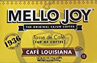 Mello Joy Cafe Louisiana Coffee K-cups Box of 12 [並行輸入品]