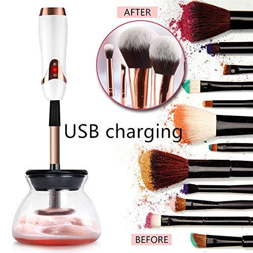 LiYuJ Rechargable Makeup Brush Cleaner en Droger, Wasmachine en Droger in seconden, Elektronisch en Draagbaar, Past bij cosmetische borstels, geüpgraded