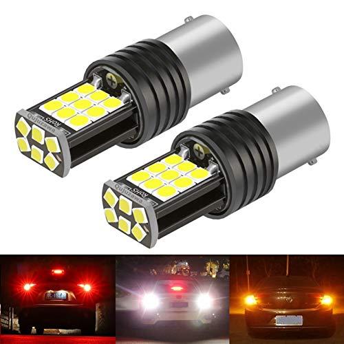 Luces $ luz 2 unids NUEVO 1156 de P21W 7506 de BA15S de R5W de R10W Súper brillante LED LED de la cola de la cola de la bulbo de la bombilla de giro de la lámpara inversa automática Luz de funcionamie