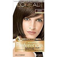 L'Oreal Superior Preference Fade-Defying Color # 5 Medium Brown - Natural 1 Application (並行輸入品)