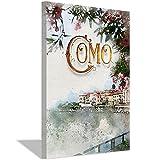 Como Landschafts-Poster auf Leinwand und Wandkunstdruck,