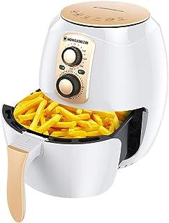 LEILEI Friteuse à air Chaud 3,8 L,Commande par Bouton,friteuse à air Chaud 1400 W,sans friteuse Friteuse à air Chaud