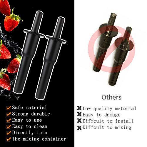 Lamoutor Blender Tamper Tool Blender Plunger Replacement Plunger Accelerator Tamper Tool for Vitamix Blenders
