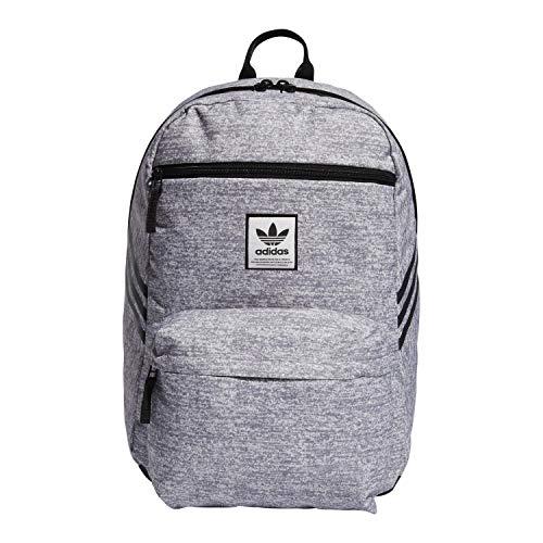 adidas Originals National SST Backpack, Jersey Grey/Black, One Size