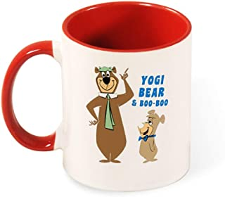 Yogi Bear Coffee Mug Ceramic Cup Tea Mugs for Christmas Thanksgiving Festival Friends Gift
