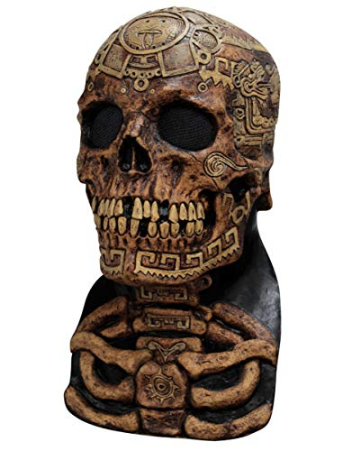 Horror-Shop Azteken Totenschädel Maske