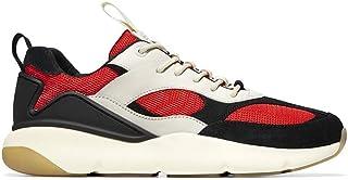 Cole Haan Men's Zerogrand City Sneaker C30177 Optic White-Black-Red
