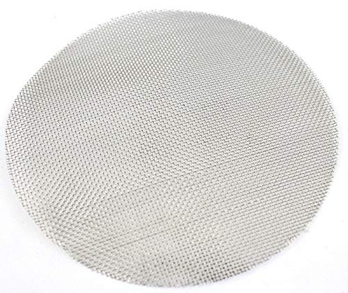 BVV 6 Inch Pre-Cut Stainless Steel Mesh for Filter Plates 100 Mesh (150 Micron)