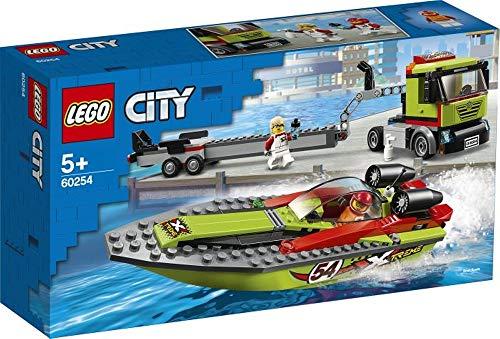 wow Lego® City Rennboot-Transporter, ab 5 Jahre
