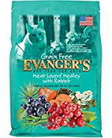Evangers Grain Free Meat Lovers Medley with Rabbit Premium Nutrition Cats 4.4lbs