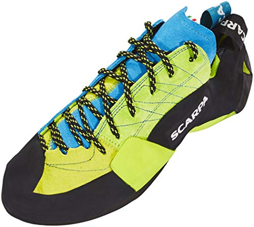 Scarpa Mago Bright, Chaussons d'escalade Homme, Lime FH, 44 EU
