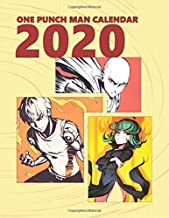 One Punch Man Calendar 2020: Full Calendar Planner 2020 with Images&Quotes, 8.5' x 11', Anime Calendar 2020, One Punch Man