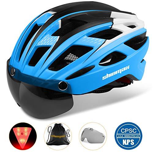 Casco bicicleta/Casco Bicic con luz,Certificado CE, casco bi