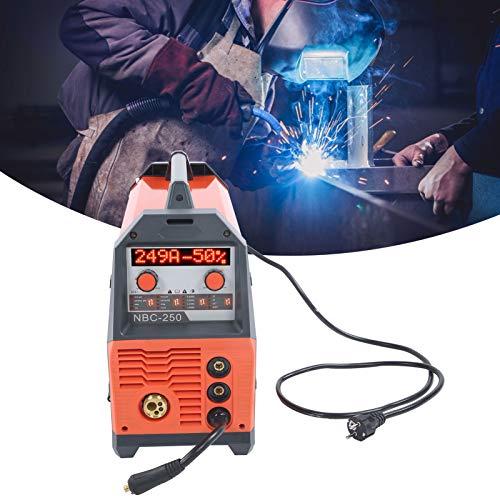 Soldador MIG, equipo de soldadura de máquina de soldadura de voltaje único, multifunción para reparación de automóviles, mantenimiento del hogar, principiantes
