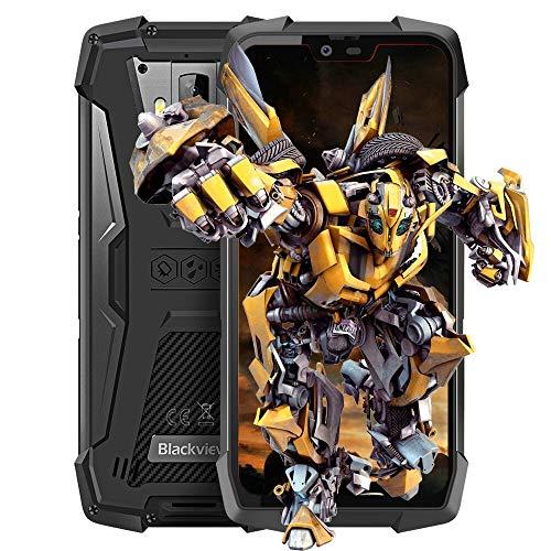 "Blackview BV9700 PRO Cellulari,IP68/IP69K Impermeabile/Antiurto Android 9.0 Smartphone,5.84"" 19:9 FHD+ Schermo,Helio P70 6GB+128GB,4380mAh Batteria,Dual Cameras,NFC,Face ID,4G Dual SIM Telefonia"