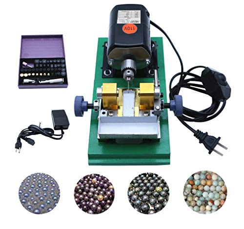 INKESKY 240W 110V Pearl Drilling Machine with Speed Adjustable