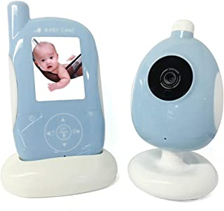 Baby Monitor with Camera and Night Vision Two-Way Intercom Function 1080P 2.4G Wireless Digital Signal Transmission Withou...