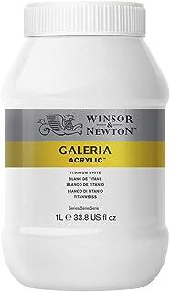 Winsor & Newton Tinta Acrílica Galeria W&N 1 Litro 644 Titanium White