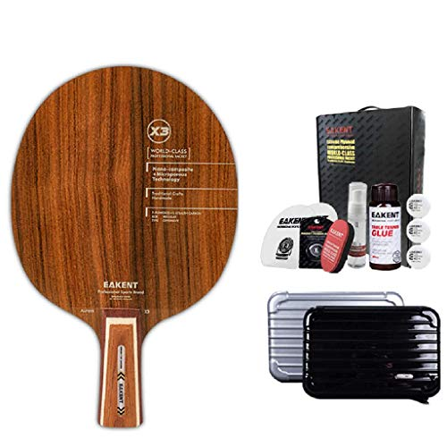 Buy Discount JD Home Professional Table Tennis Racket, Table Tennis Floor Attack Table Tennis Racket...