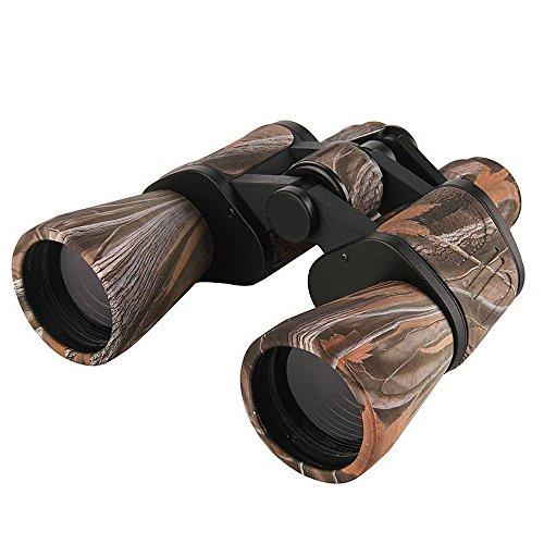 Fernglas Hohe Vergrößerung 10x50 Fernglas HD Grüner Film Schwachlicht Nachtsichtbrille for den Außenbereich for Reisen geeignet, um die Stars Fußballspiel usw. Zu sehen für Vogelbeobachtung, Wandern u