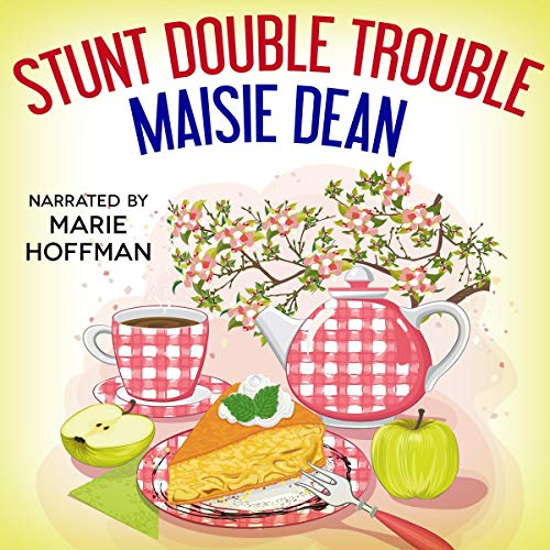 Stunt Double Trouble audiobook cover art
