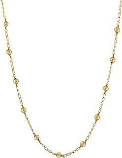 Vama Fashions Golden Pearl Designer kamarband Body Belly Chain Fancy Waist Chain for Women