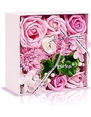 ソープフラワー 創意方形ギフトボックス 母の日 父の日 誕生日 記念日 先生の日 バレンタインデー 昇進 転居など最適としてのプレゼント…