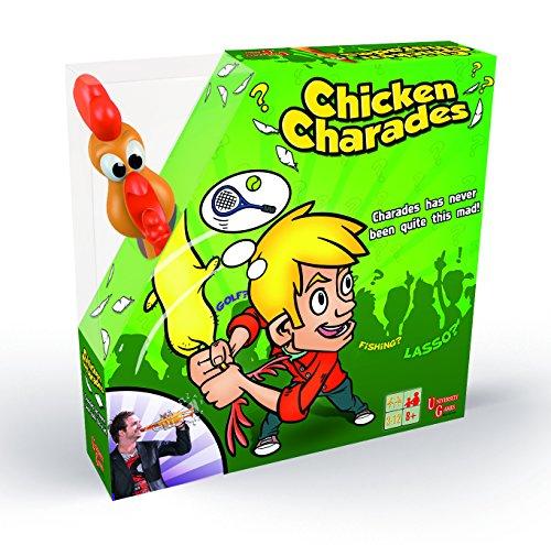Chicken Charades Game – Jeu de Société Chicken Fun Version Anglaise