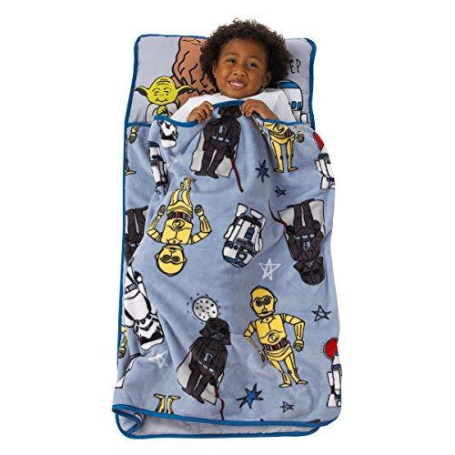 Disney Star Wars Rule The Galaxy Blue, Grey, White Toddler Nap Mat