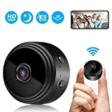 Mini Camera Espion, HD 1080P Portable Mini Camera WiFi Surveillance de la Sécurité...