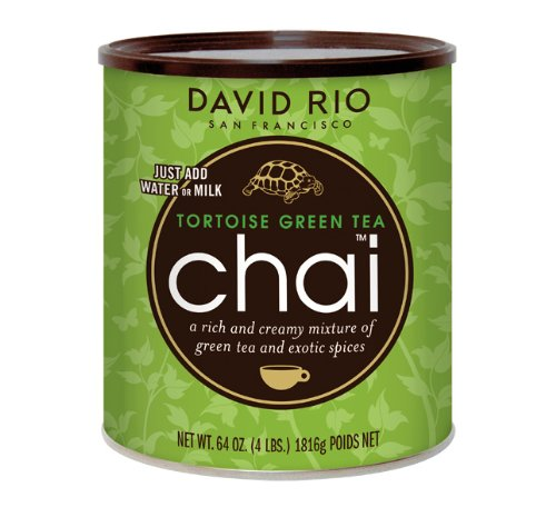 David Rio - Tortoise Green Tea Chai - Foodservice (1816 g)