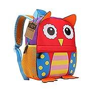 Children's Backpack, TEAMEN® Toddler Kids School Bag, Animal Design, Kinder Racksack for 2-5 Years O...