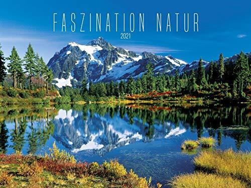Faszination Natur 2021 - Bild-Kalender quer 56x42 cm - Fascinating Nature - Landschaftskalender - Wand-Kalender - Alpha Edition