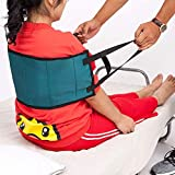 Fushida Patient Lift, Gait Belt Transfer Belts, Lift Assist for Elderly,Medical Transfer Belt with Helps with Double Period of PVC 1680 Transfers from Car, Wheelchair, Bed. (Green, FYH250)