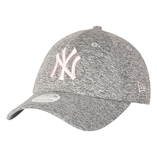 New Era Damen Damen Kappe 9Forty New York Yankees Kappe, Grey, One Size, 80489231