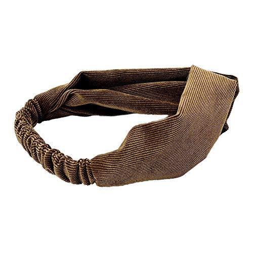 Damen Haarband Sport Weich Turban Stirnband Alltag Yoga Fitness Solide Farbe Breit Stirnbänder Verknotet Elastisches Haar Ball Flanell Elastisch Handgemacht Krawatte