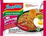 INDOMIE Instantnudeln Mi Goreng Pedas, aus Indonesien, schnelle, einfache Zubereitung – 40er Vorteilspack