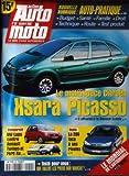 ACTION AUTO MOTO [No 50] du 01/10/1998 - LE MONOSPACE CITROEN - XSARA PICASSO...